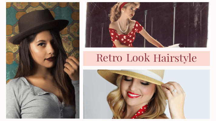 Retro Hairstyle With Scarf