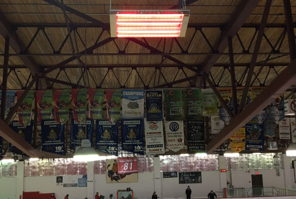 Ice Arenas and Bleacher Heaters