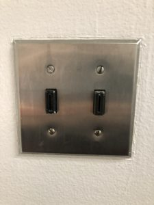 Key-controlled light switch