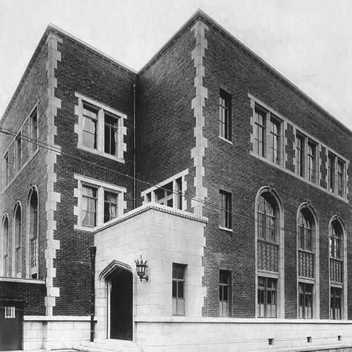 1933年当時の尾西繊維協会ビル外観