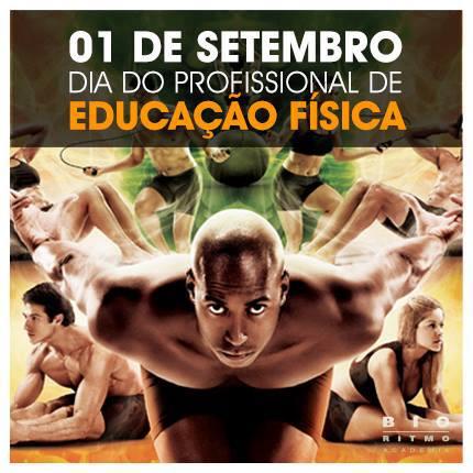 01 de setembro: Dia do Profissional de Educação Física
