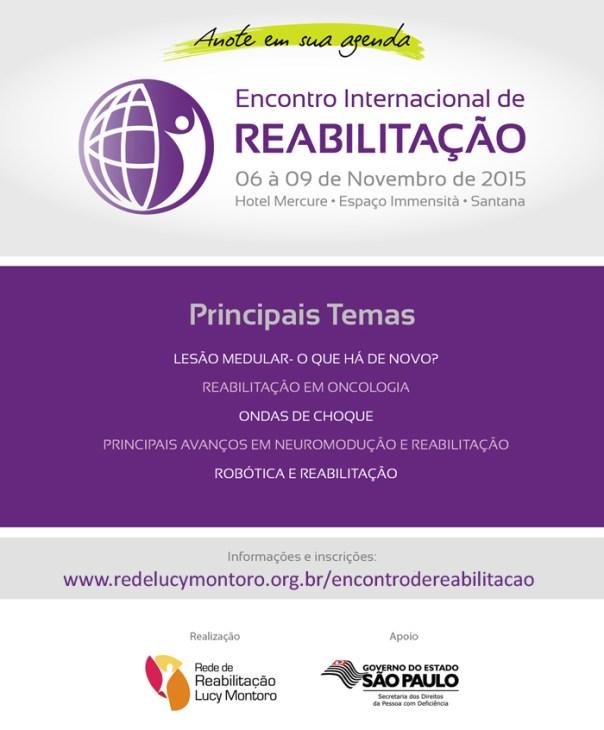 encontro internacional de reabilitacao