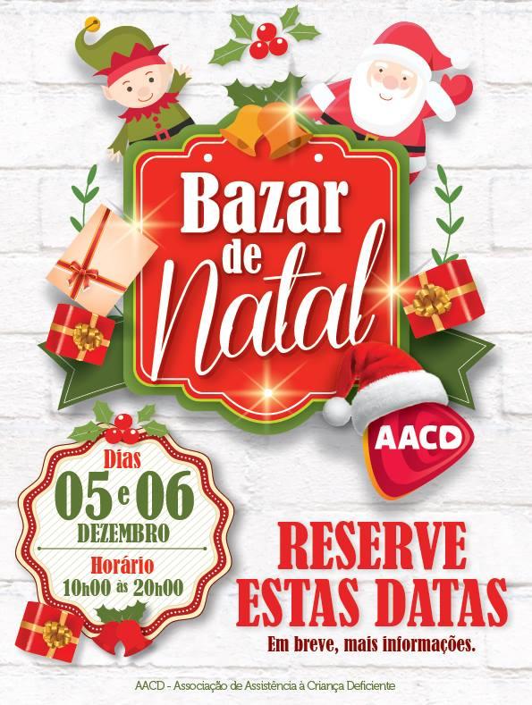 Reabilitação Bazar de Natal AACD