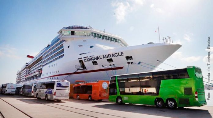 By January there will be a new cruise terminal for three ships in Mazatlán.