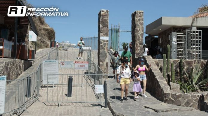 Due to the death of a tourist, they suspend the entrance to the Mazatlán lighthouse