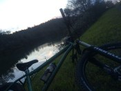 During second ride. LOVELY.