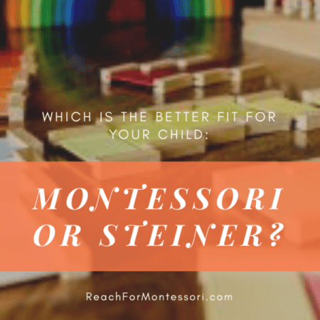 Montessori and Steiner materials and toys