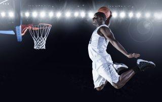 basketball, slam dunk, athlete
