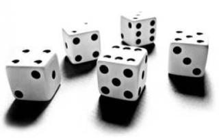 dice, gambling