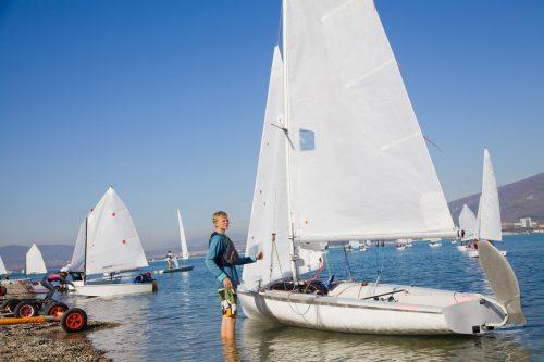 High School & Jr. Sailors' Year-Long Mental Training