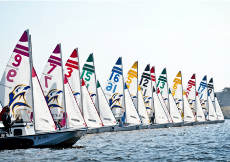 college, sailing, race day
