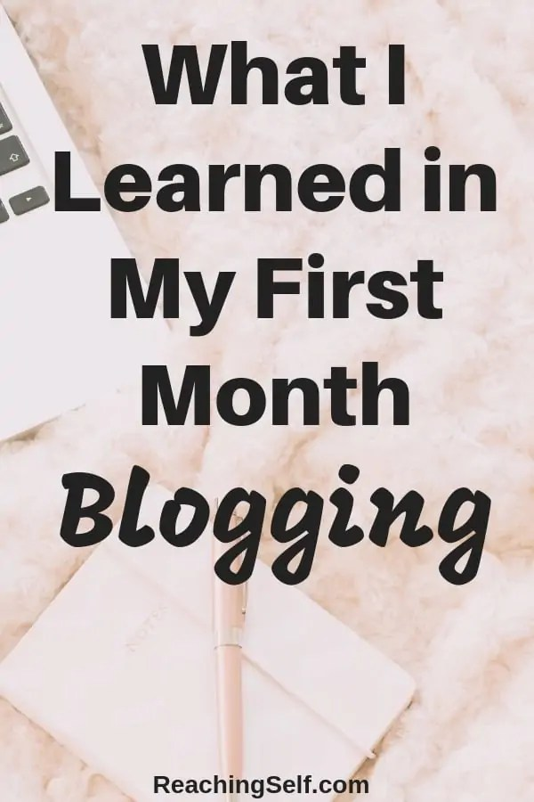 In this blog report, I share my experiences and what I learned in launching my first blog and my first month blogging including how I reached over 3K pageviews.
