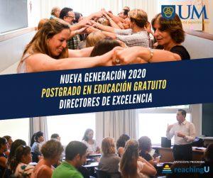 Convocatoria: 3ª Edición del Posgrado en Educación Directores de Excelencia, con el apoyo de Reaching U