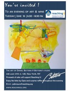 Noche de arte y vinos en Nueva York: 16 de junio, 6.30pm