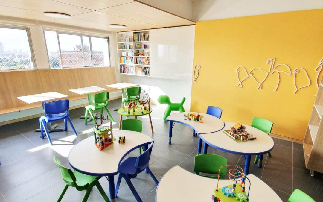 La primera sala educativa en el Hospital Pereira Rossell ya es una realidad