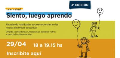 Taller de Educación Emocional para educadores y docentes