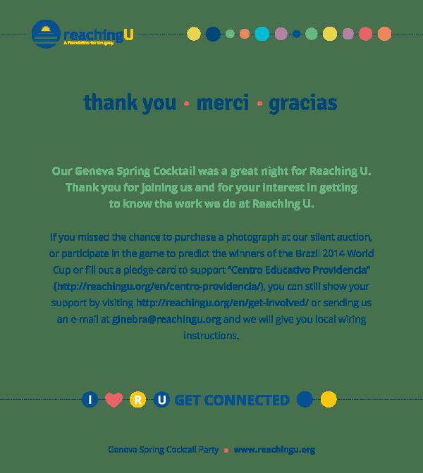 ¡Gracias Ginebra!