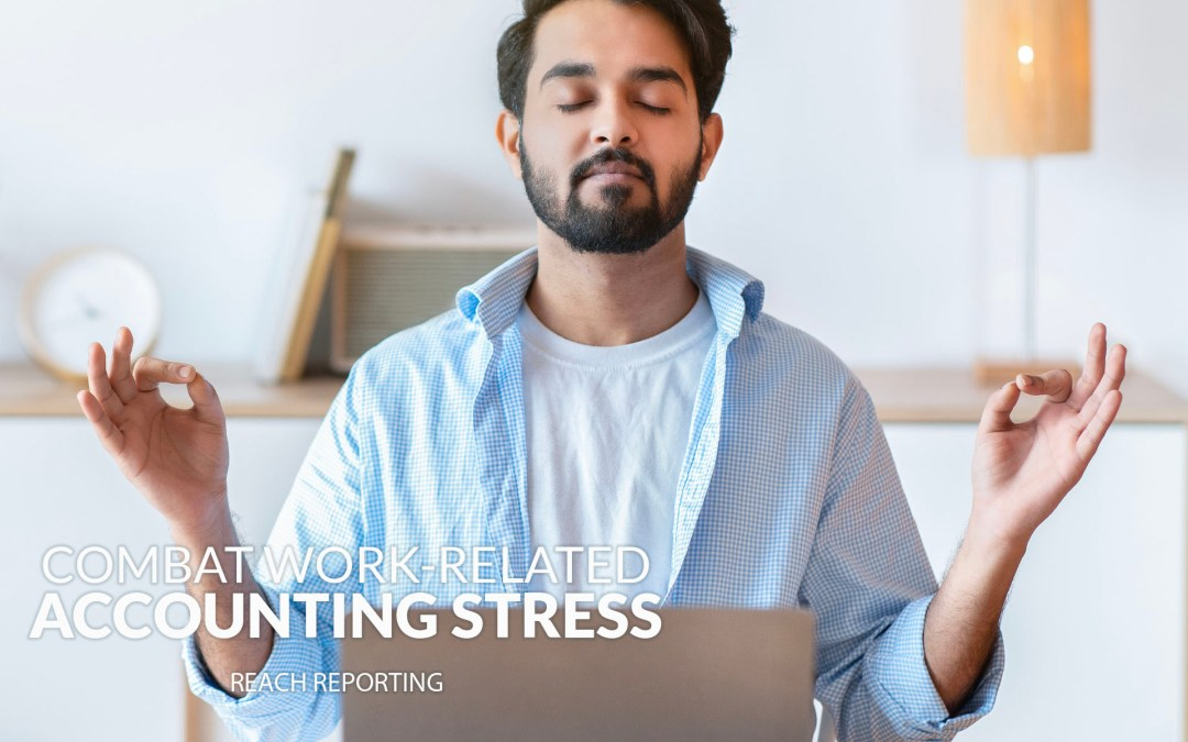 Accountants combat work-related stress