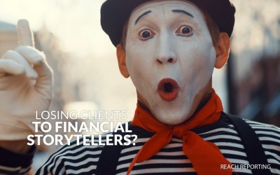 Accountants losing clients to financial storytellers