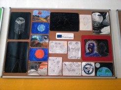 "Erasmus+ Wall in ""Gheorghe Lazăr"" High School from Pecica, Romania"