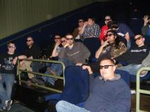 Watching the credits ... in 3D!