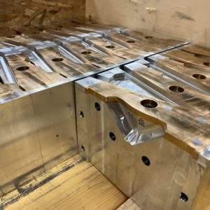 laser engraved mold cavity