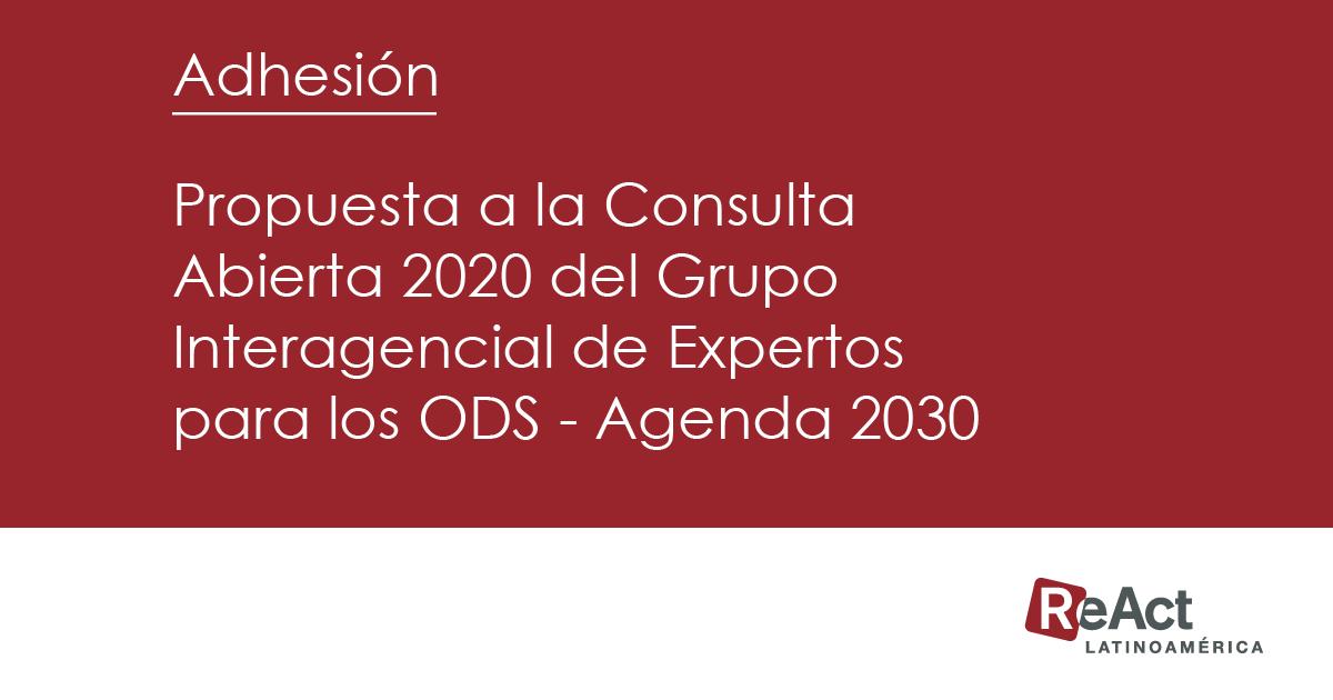 Adhesión | Indicadores de RBA en Latinoamérica para los ODS