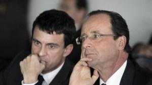 De verliezers Valls en Hollande verwerken de afgang van hun socialistisch wanbeleid.