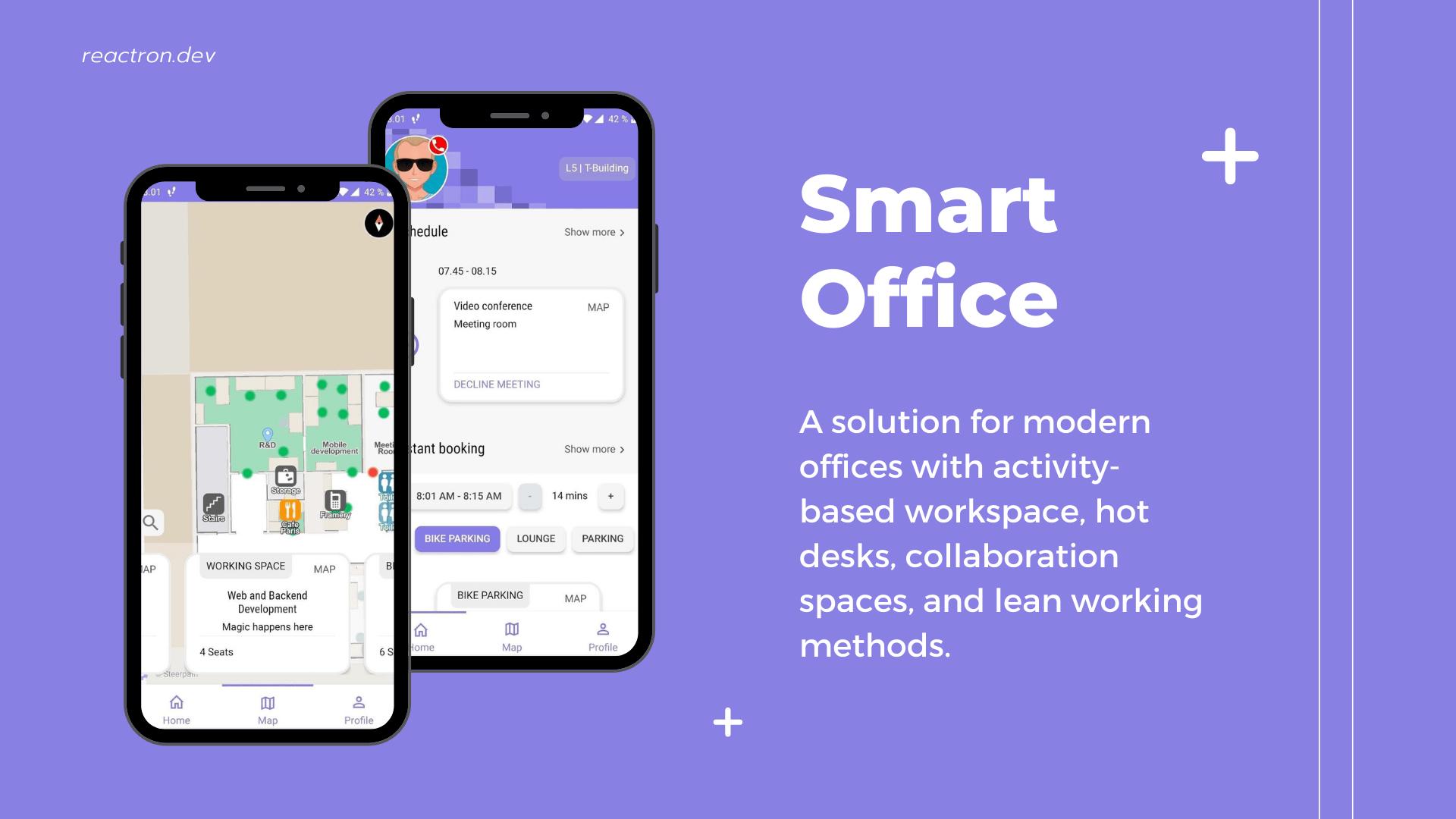 react native office app steerpath