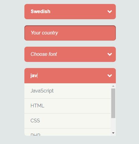 Select Search