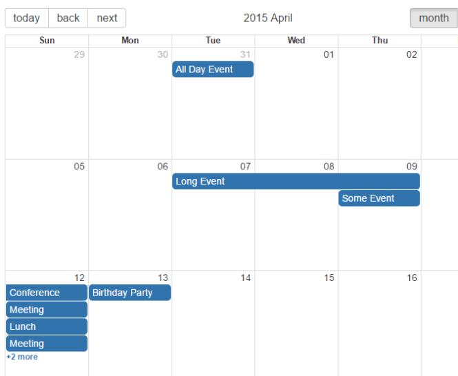 Google Calendar & Outlook Like Calendar Component For React