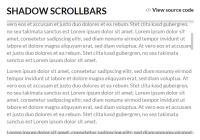 React Custom Scrollbars Component
