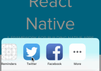 React Native Share Extension