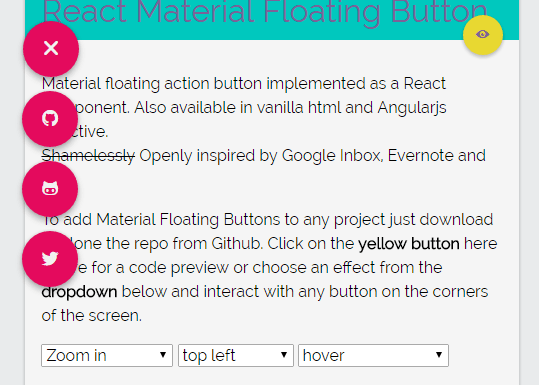 react-material-floating-button