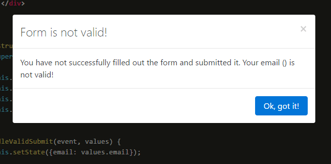 Availity React Bootstrap Form Validation Component Reactscript