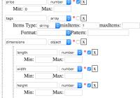 JSON Schema Editor For React
