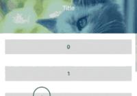 React Native Scrollable Header