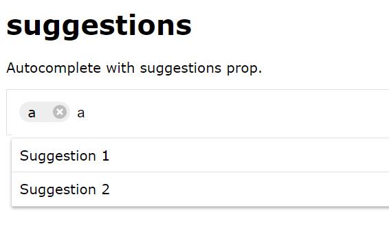 Customizable Tag Token Input For React