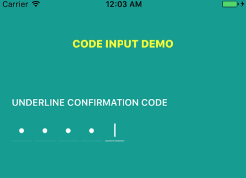 React Native Confirmation Code Input Component | Reactscript