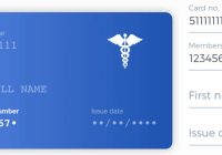 React Health Card Component
