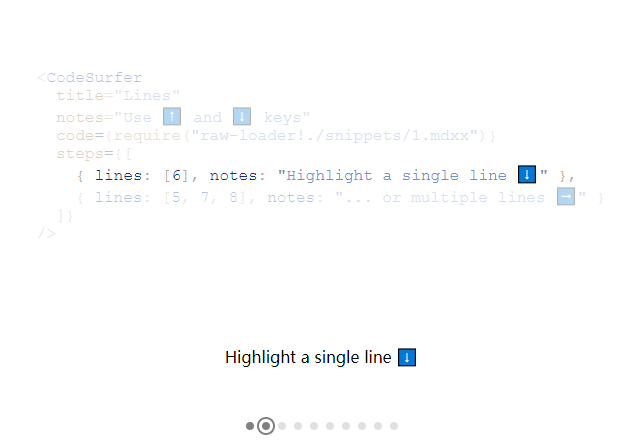 Scroll, Zoom And Highlight Code - Code Surfer-min