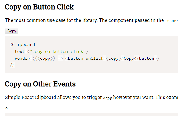 Simple React Clipboard Component-min
