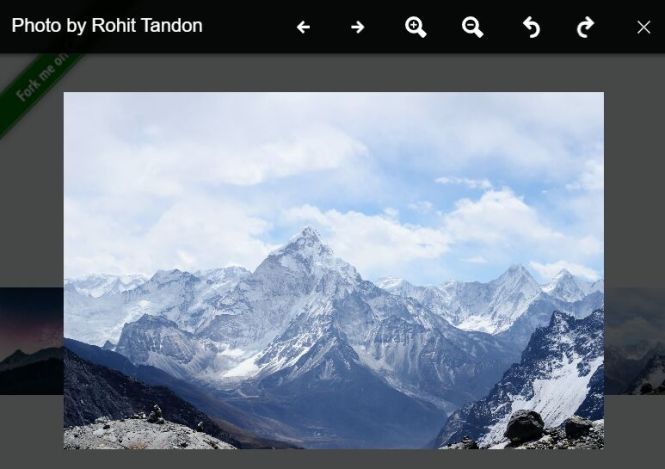 Fullscreen Image Viewer For React - awesome-lightbox
