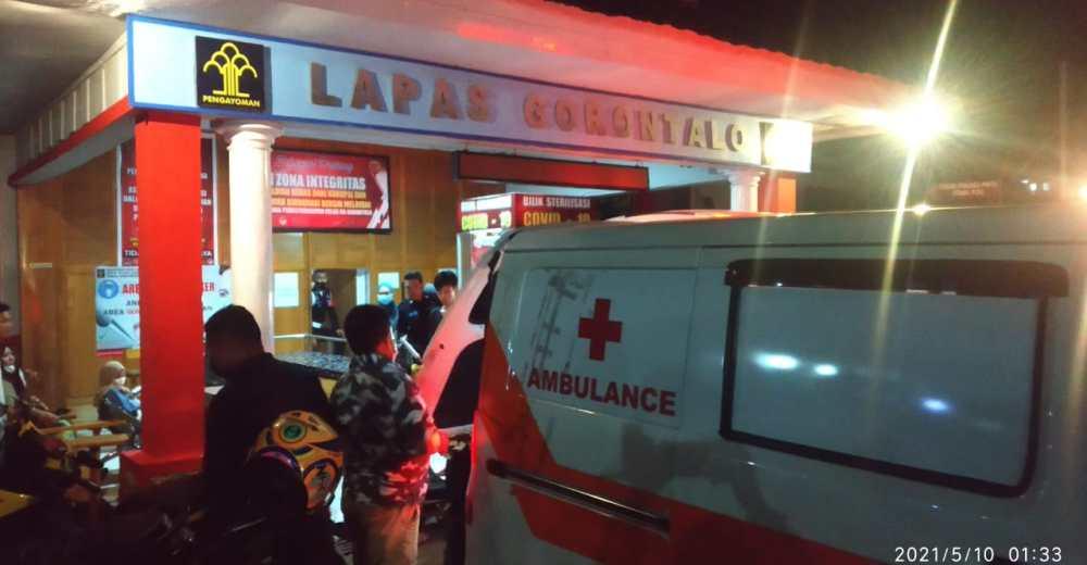 Evakuasi Narapidana Gorontalo