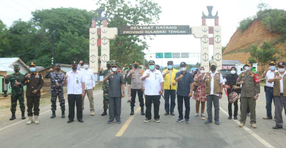 Masuk Gorontalo, Batas Gorontalo Sulawesi Tengah