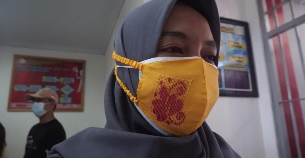 Masker Karawo Gorontalo