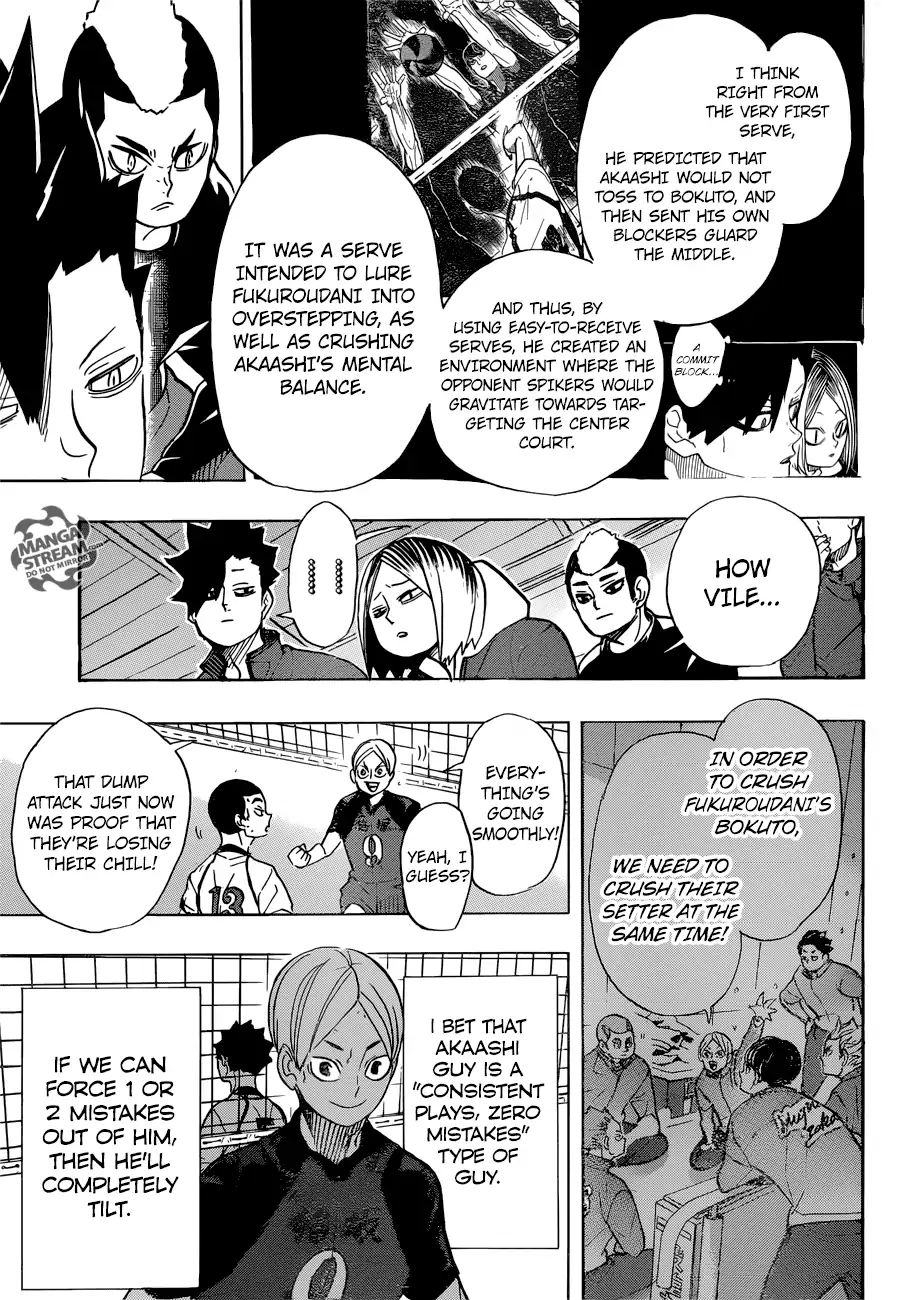 haikyuu chapter 331 the aces