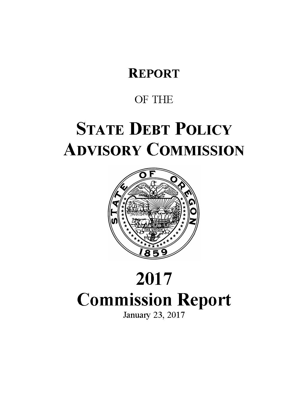 Debt Policy And The State Budget