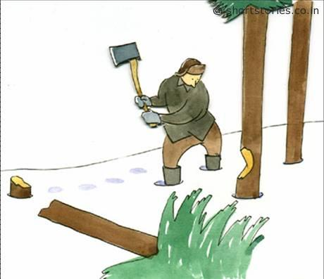 the-wood-cutter
