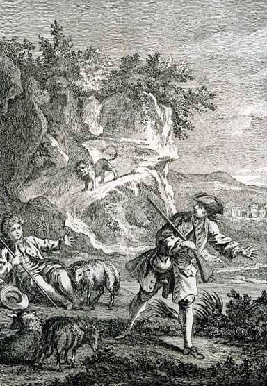 Jean de La Fontaine Fables - Book 6 - Fable 2